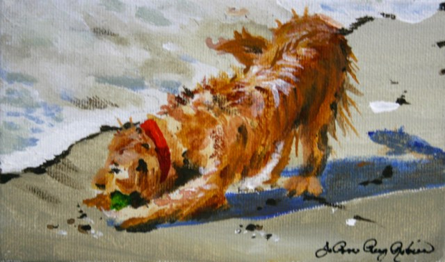 """I Got This!"" original fine art by JoAnne Perez Robinson"