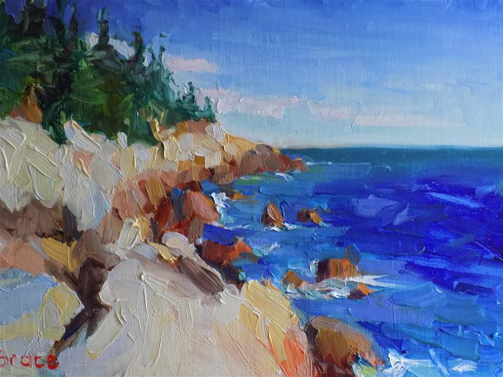 """The Atlantic"" original fine art by Rita Brace"