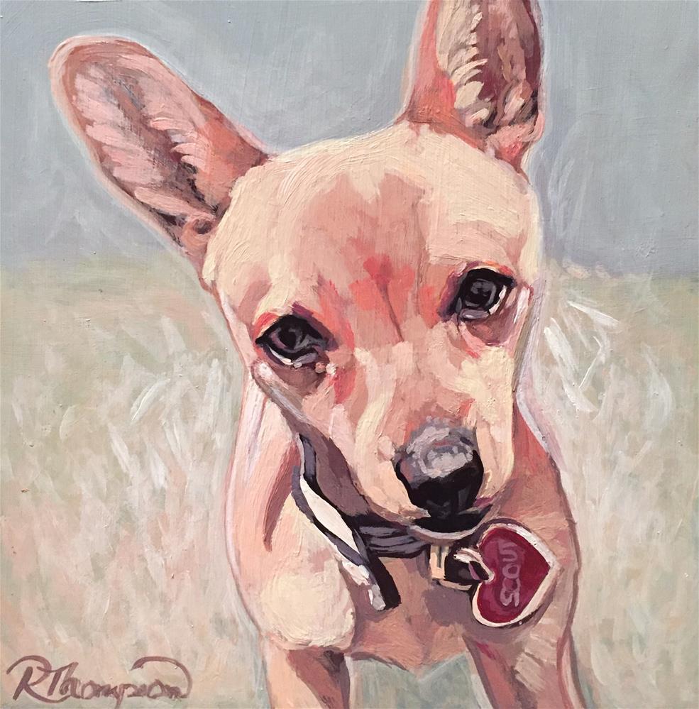 """""""Scout"""" original fine art by Rachel Thompson"""