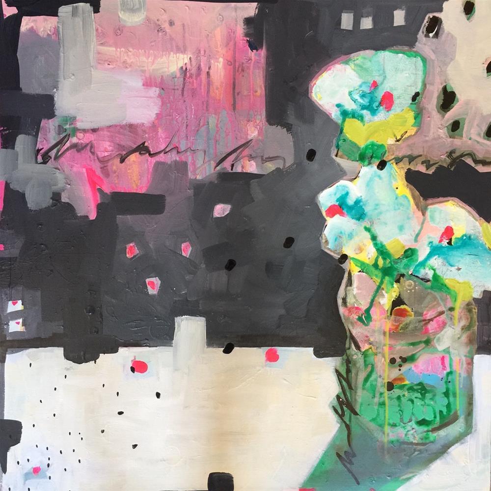 """""""263 Company"""" original fine art by Jenny Doh"""