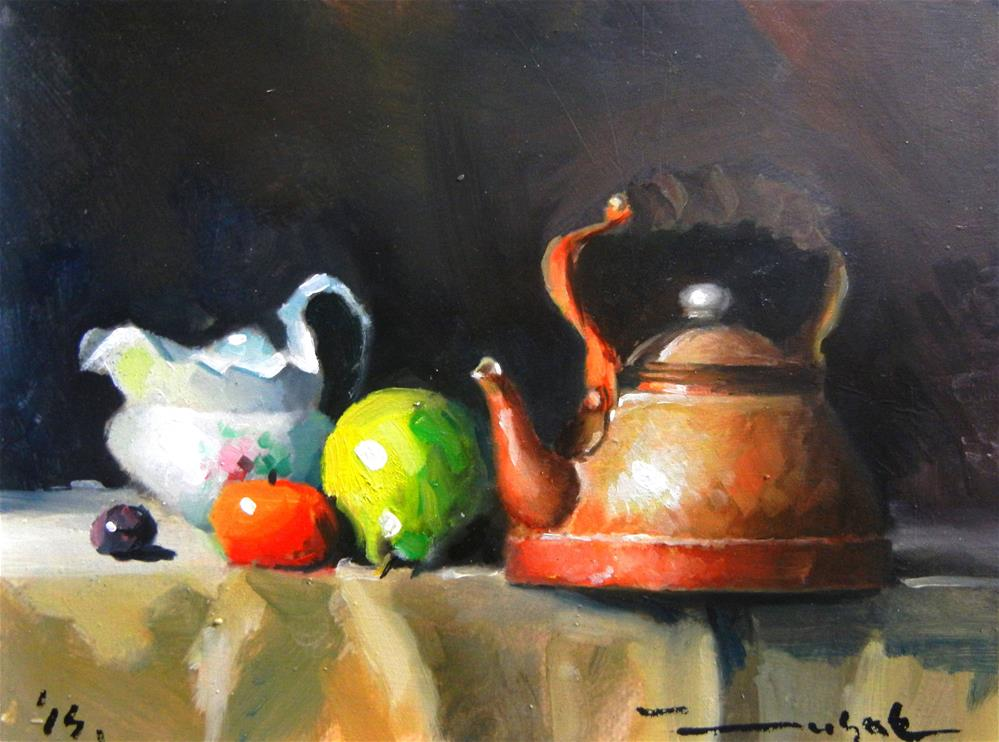 """Old table"" original fine art by Dragan Culjak"