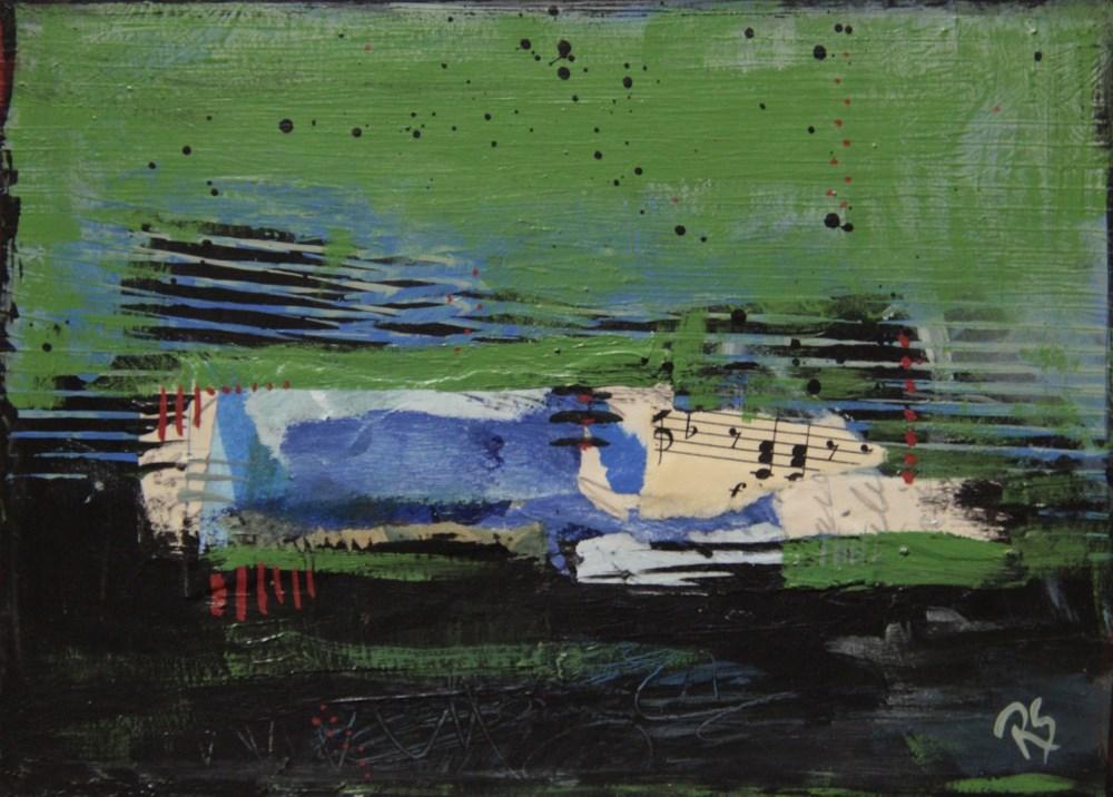 """Unsung Harmony"" original fine art by Roberta Schmidt"