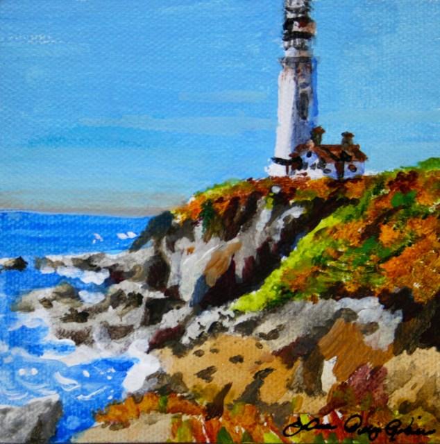 """The Flashlight"" original fine art by JoAnne Perez Robinson"