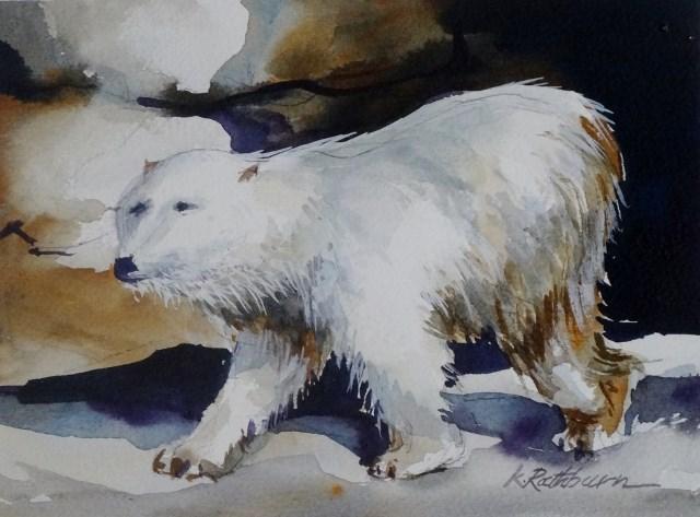 """""""Polar"""" original fine art by Kathy Los-Rathburn"""