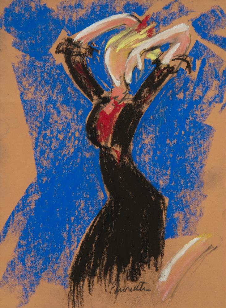 """Flamenco, Seville"" original fine art by Sarah Peroutka"