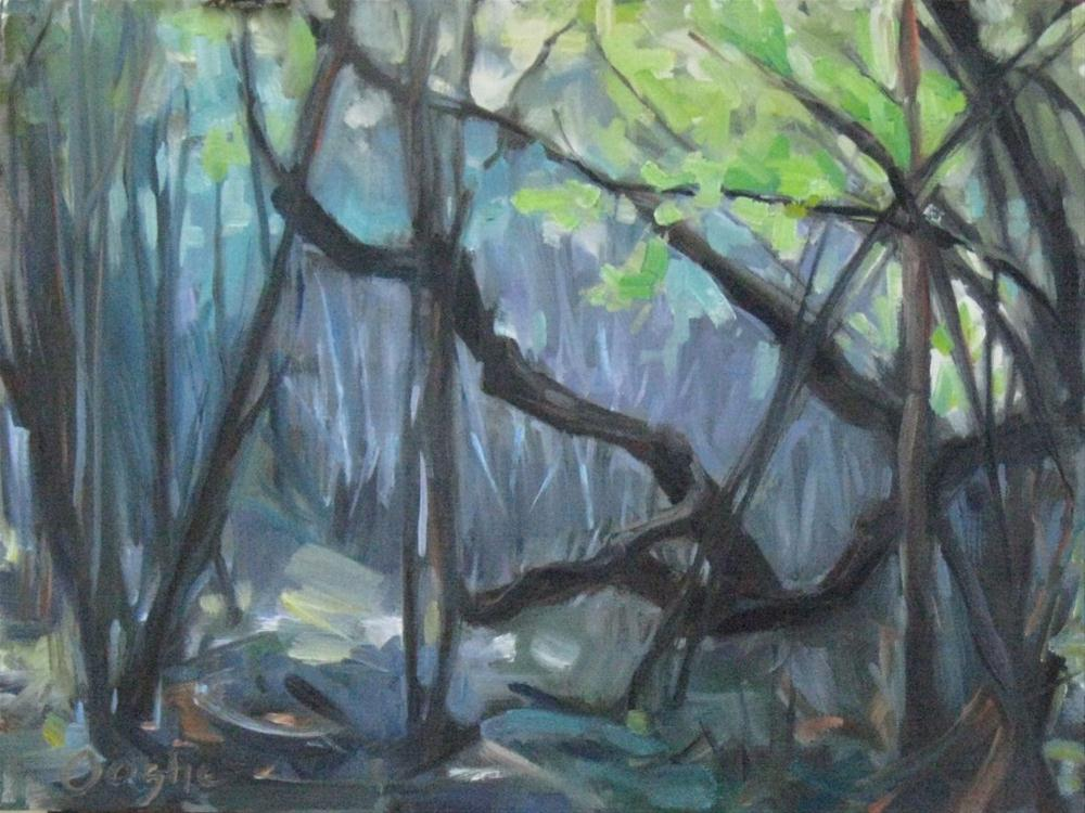 """Tangled Forest"" original fine art by Angela Ooghe"