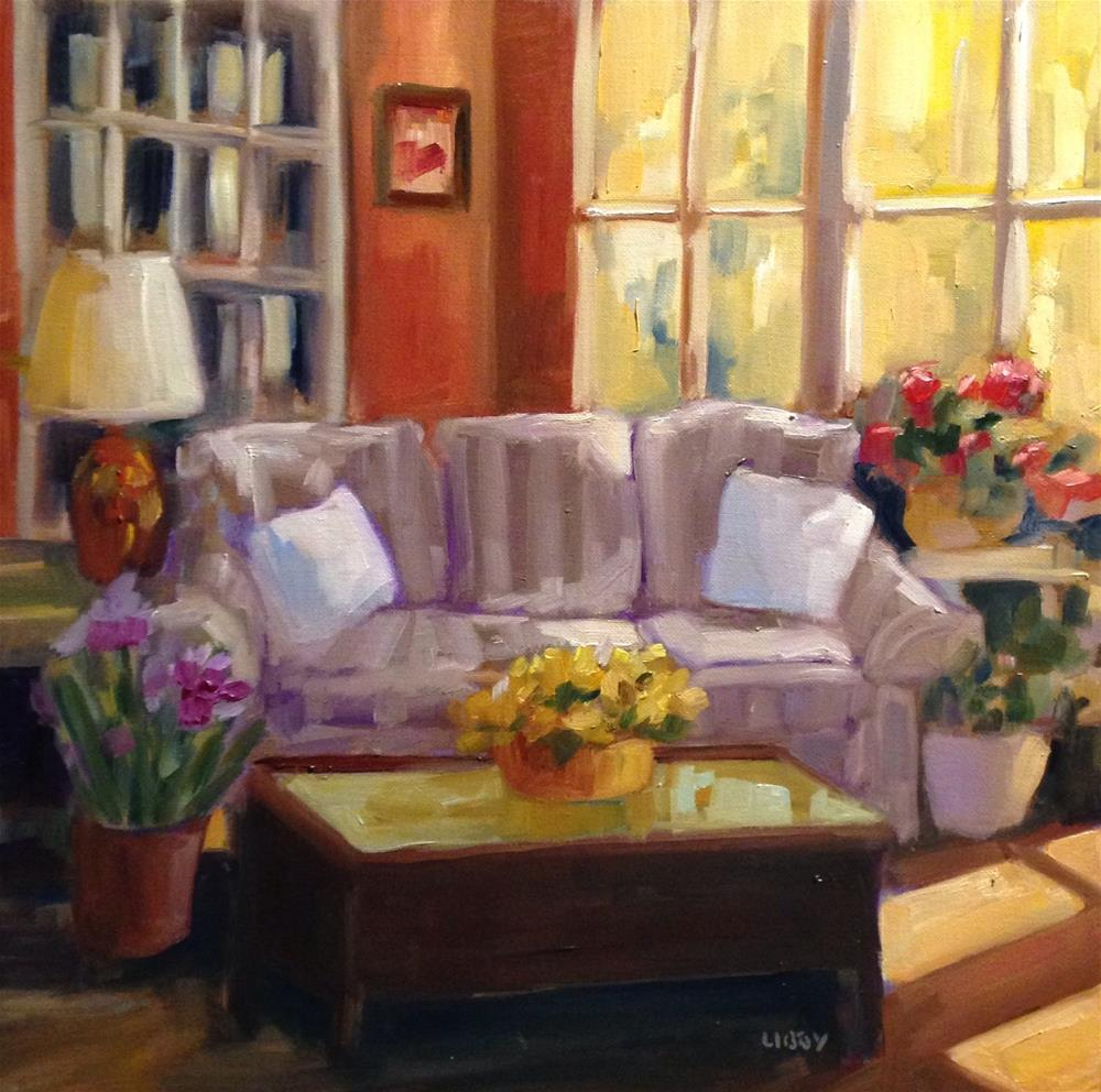 """Morning Room"" original fine art by Libby Anderson"