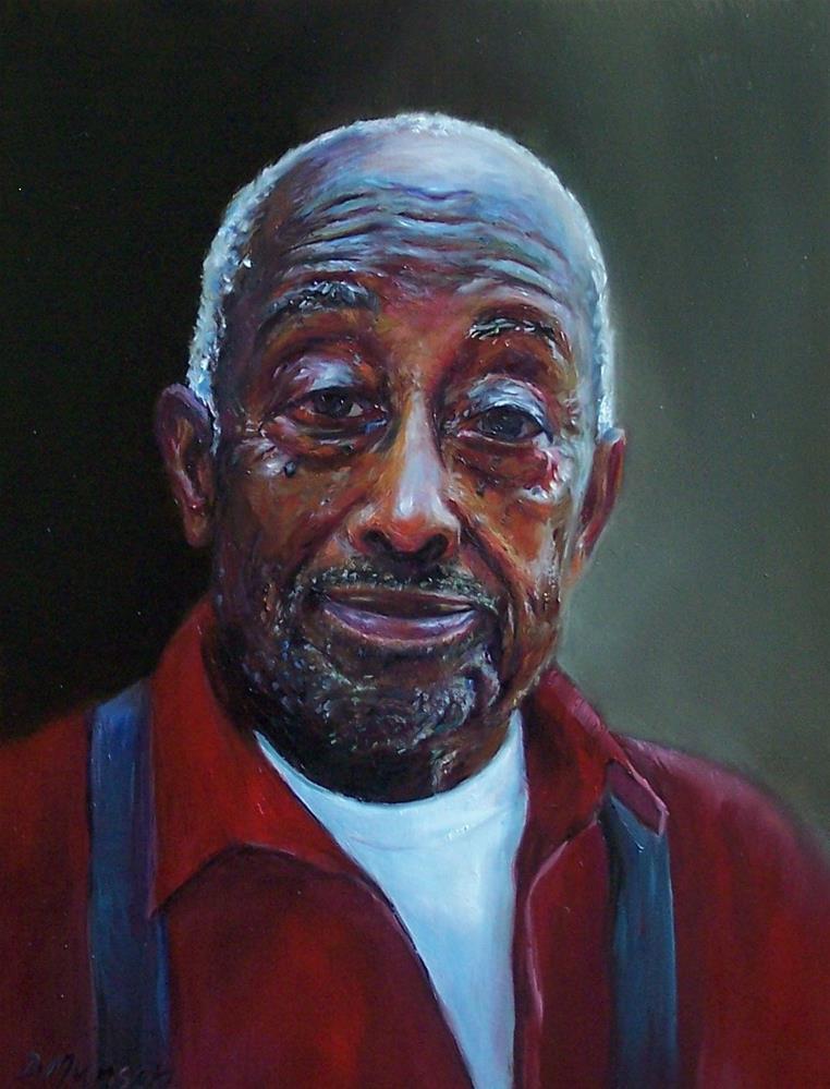 """Retired Preacher"" original fine art by Donna Munsch"