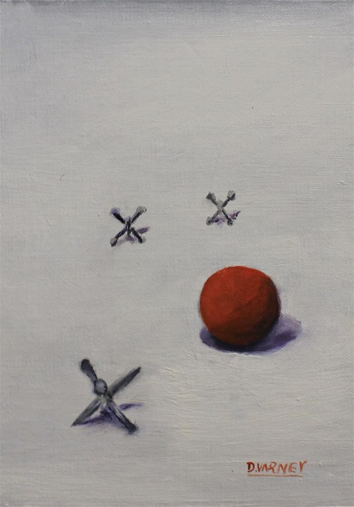 """A Time To Play"" original fine art by Daniel Varney"