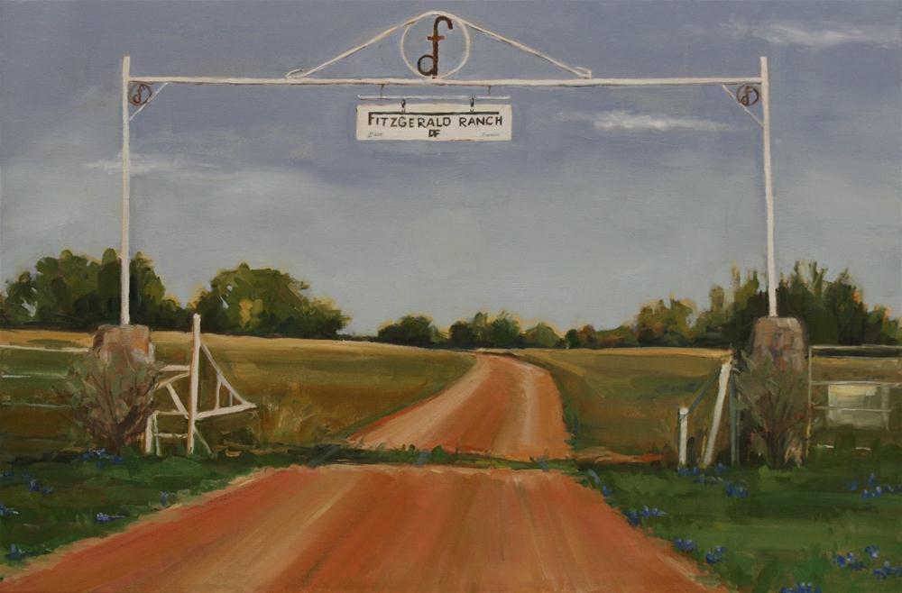 """Fitzgerald Ranch"" original fine art by Carol Carmichael"