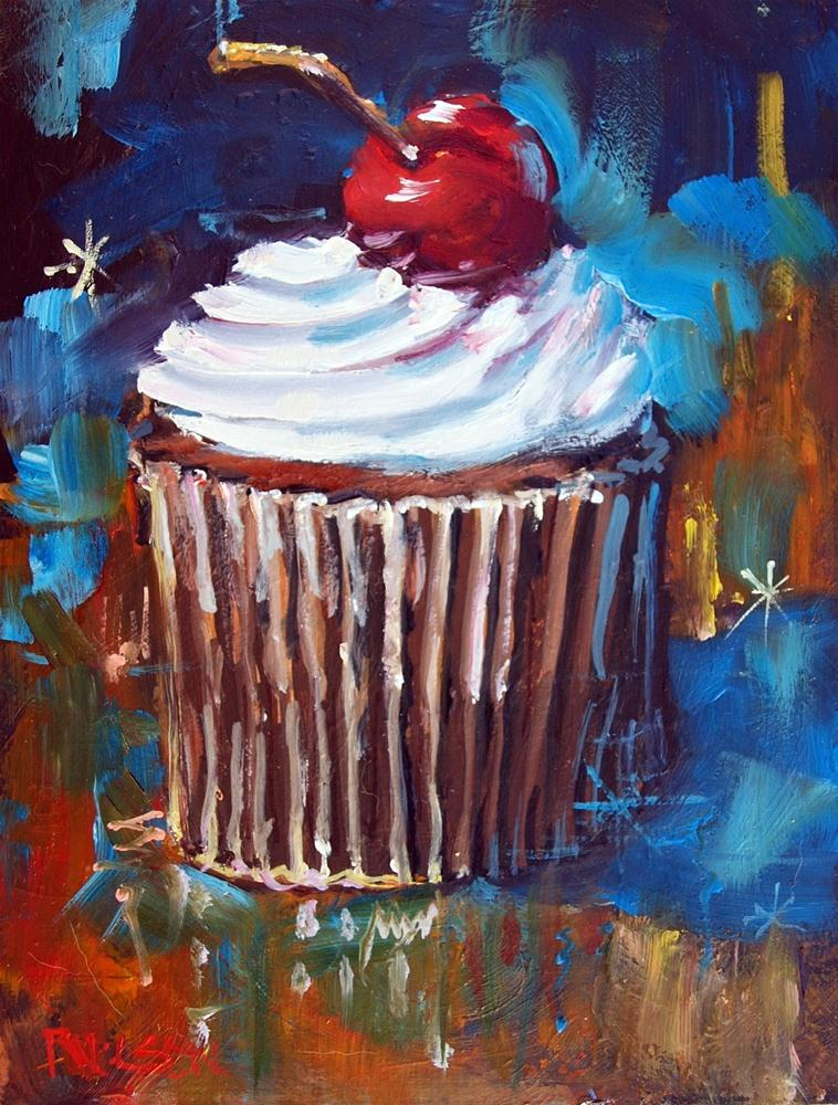 """Dream Cake"" original fine art by Rick Nilson"