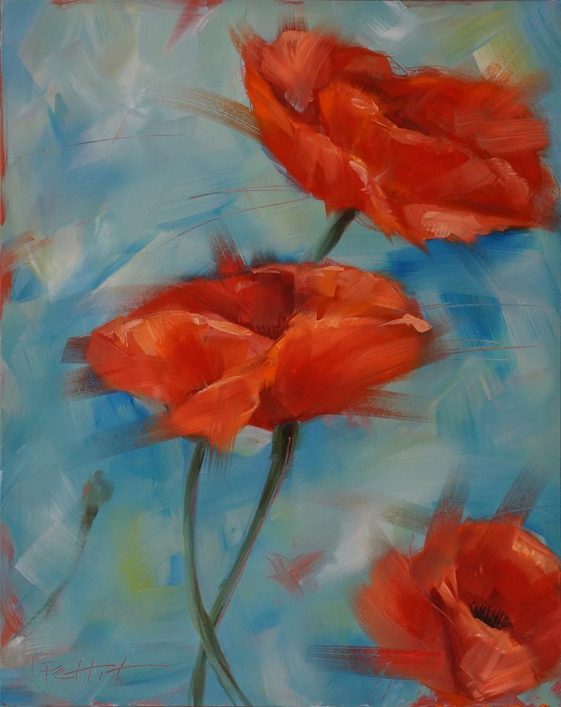"""""""Blowin' in the Wind"""" original fine art by Rhea  Groepper Pettit"""
