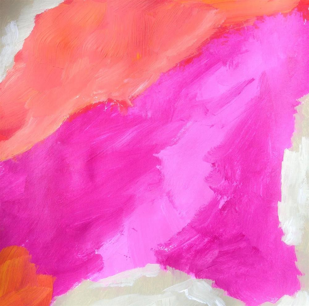 """COLOR, Day 8"" original fine art by Dotty  Seiter"