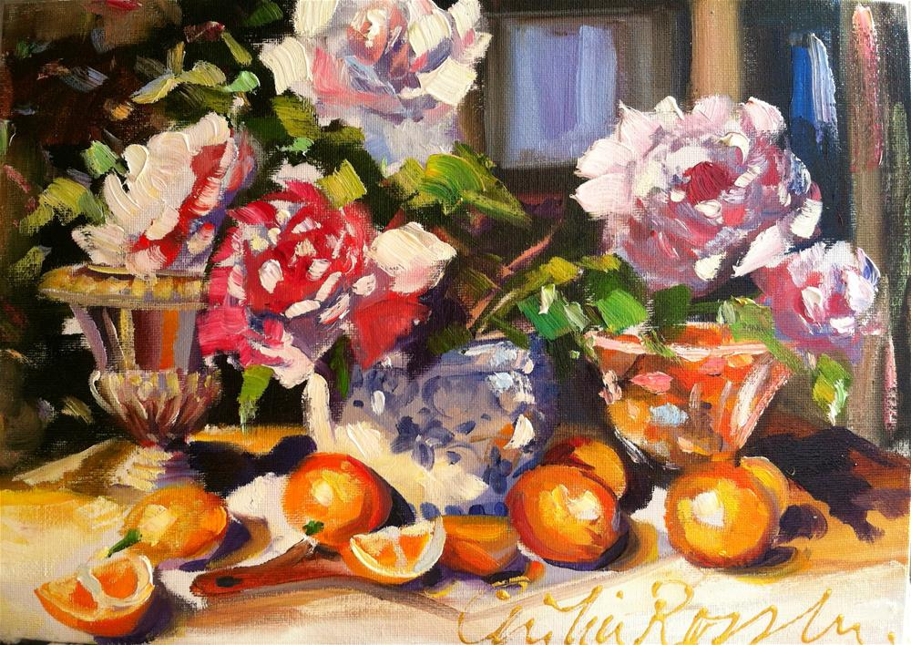 """DELFT BOWL"" original fine art by Cecilia Rosslee"