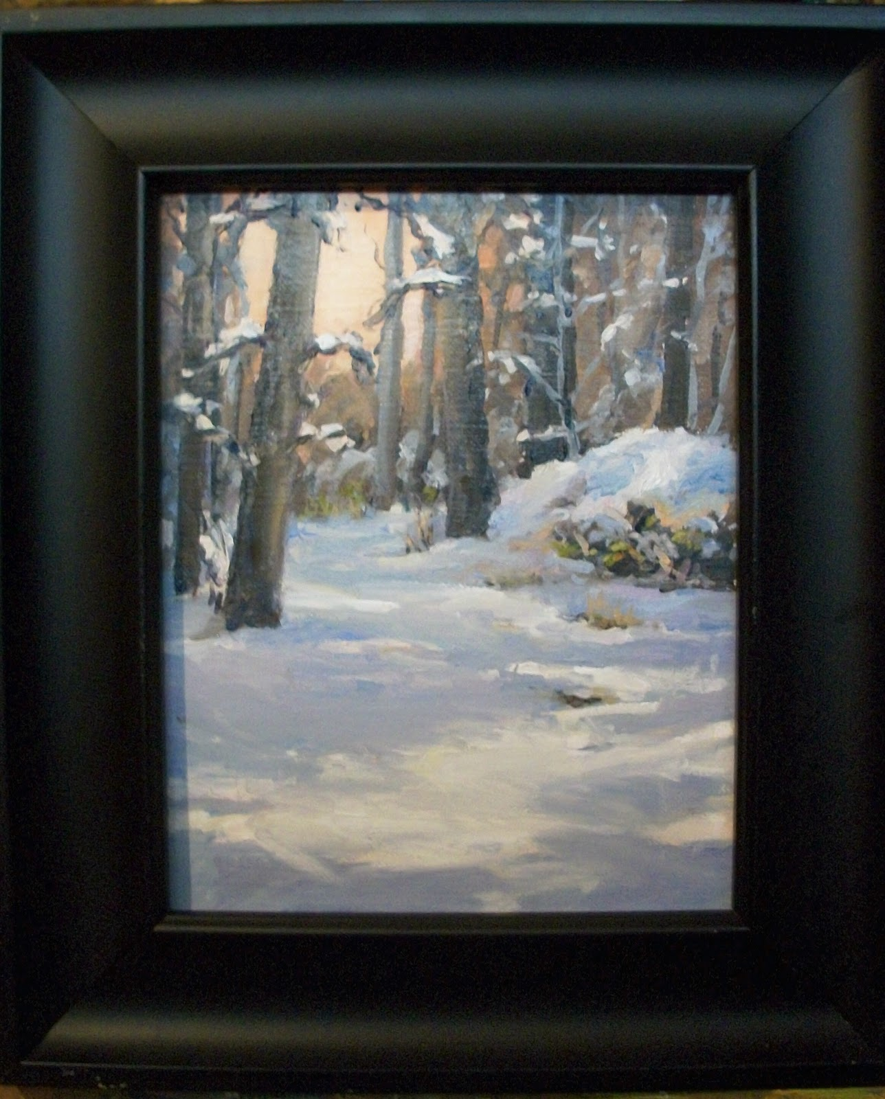 """ Whats all this white stuff?"" original fine art by Doug Carter"