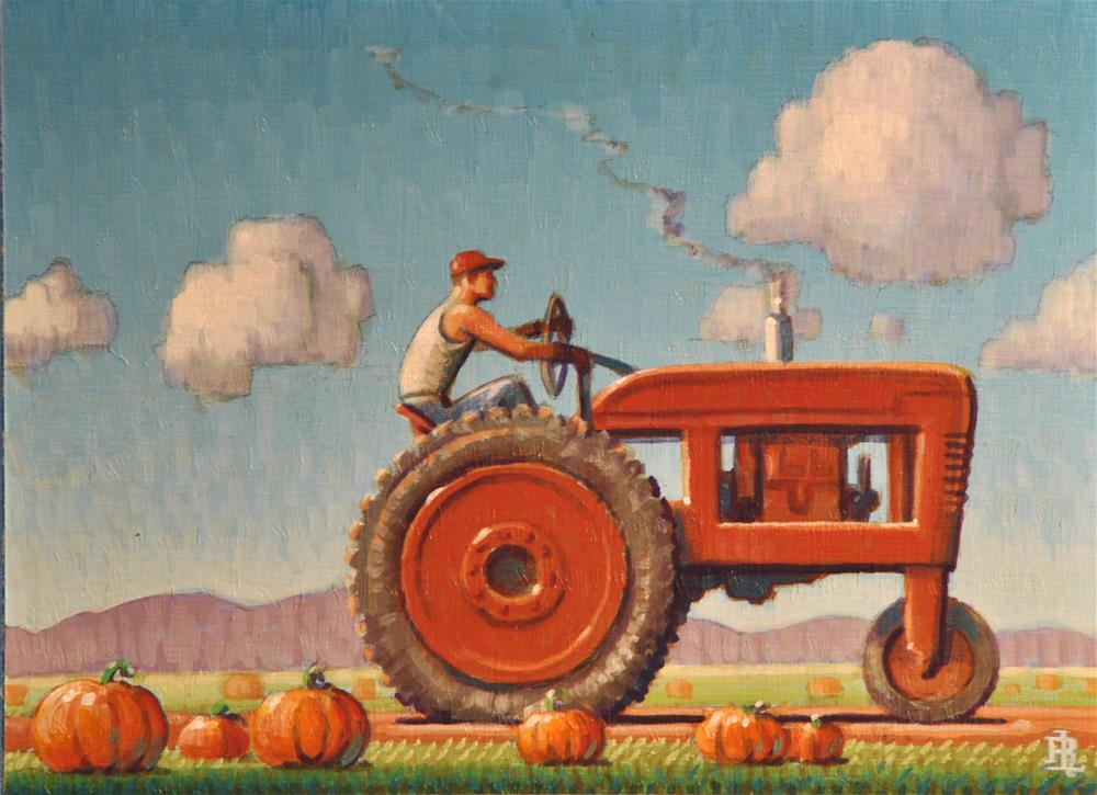 """Autumn"" original fine art by Robert LaDuke"