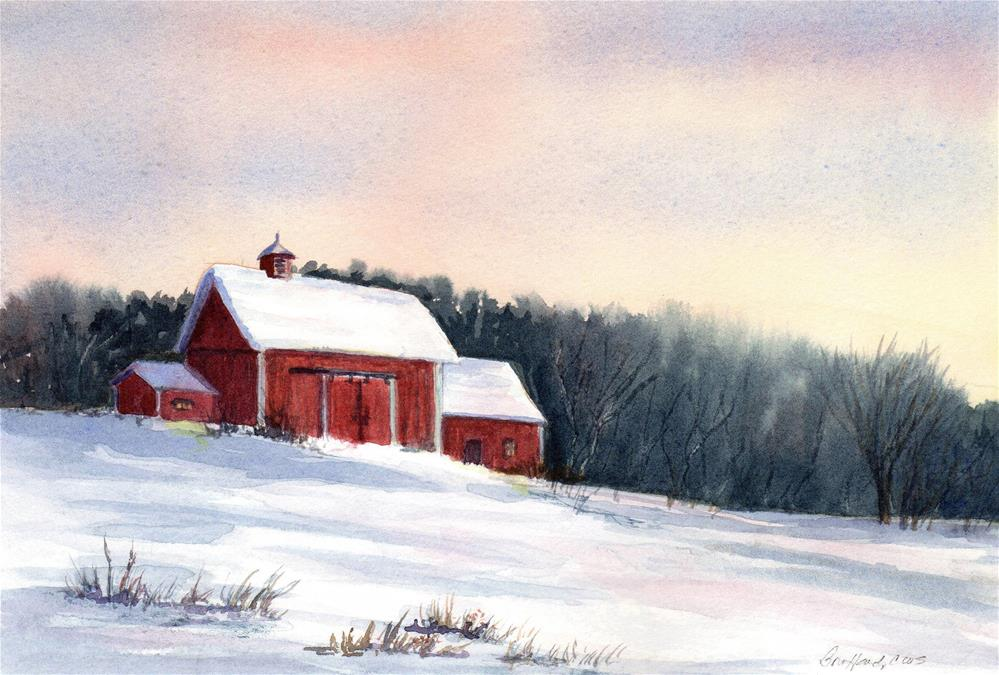 """Fresh Snow"" original fine art by Vikki Bouffard"