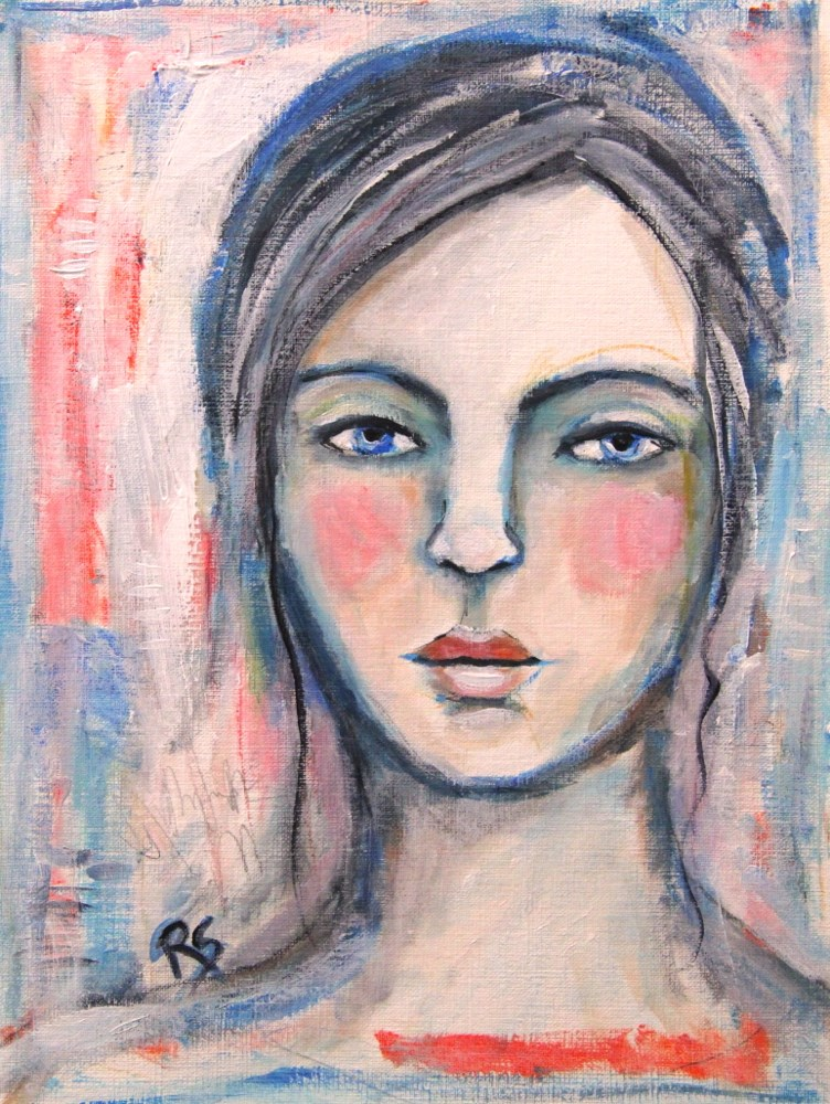 """Juliette"" original fine art by Roberta Schmidt"