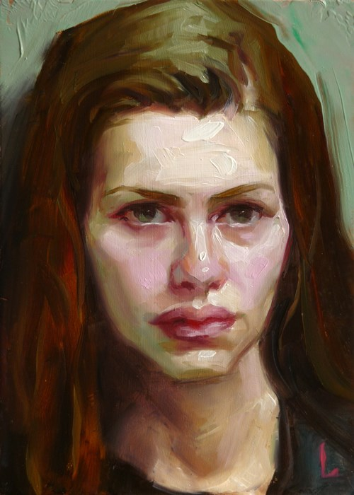 """Pale Pink"" original fine art by John Larriva"
