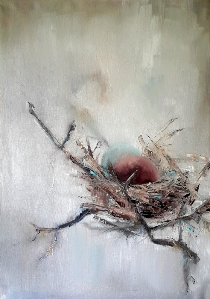 """Safehaven 7"" original fine art by Rentia Coetzee"
