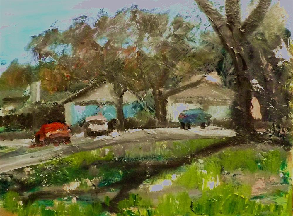 """Landscape,5M7"" original fine art by Run-      Zhang Zane"