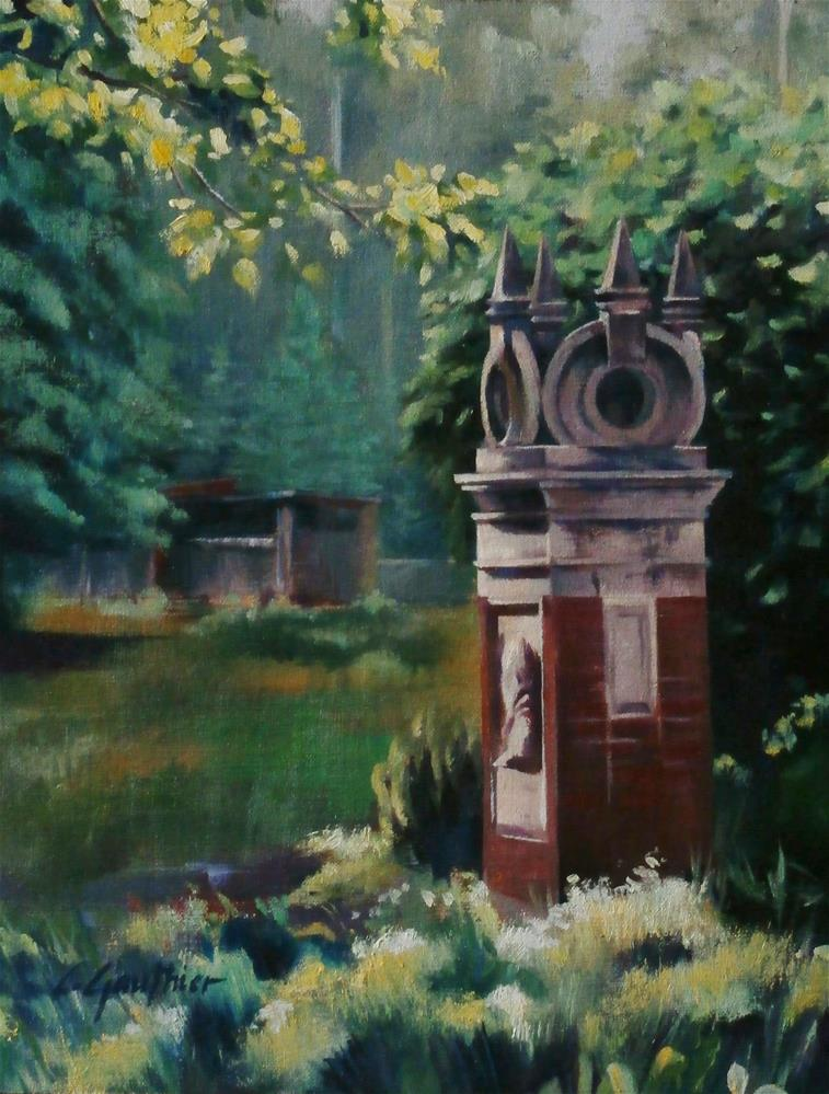 """Stanley Park"" original fine art by Carla Gauthier"