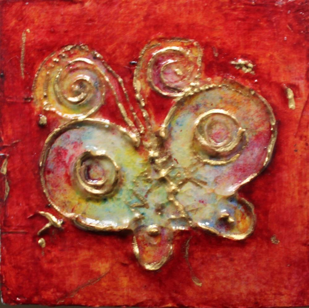 """Spread Your Wings"" original fine art by Christiane Kingsley"