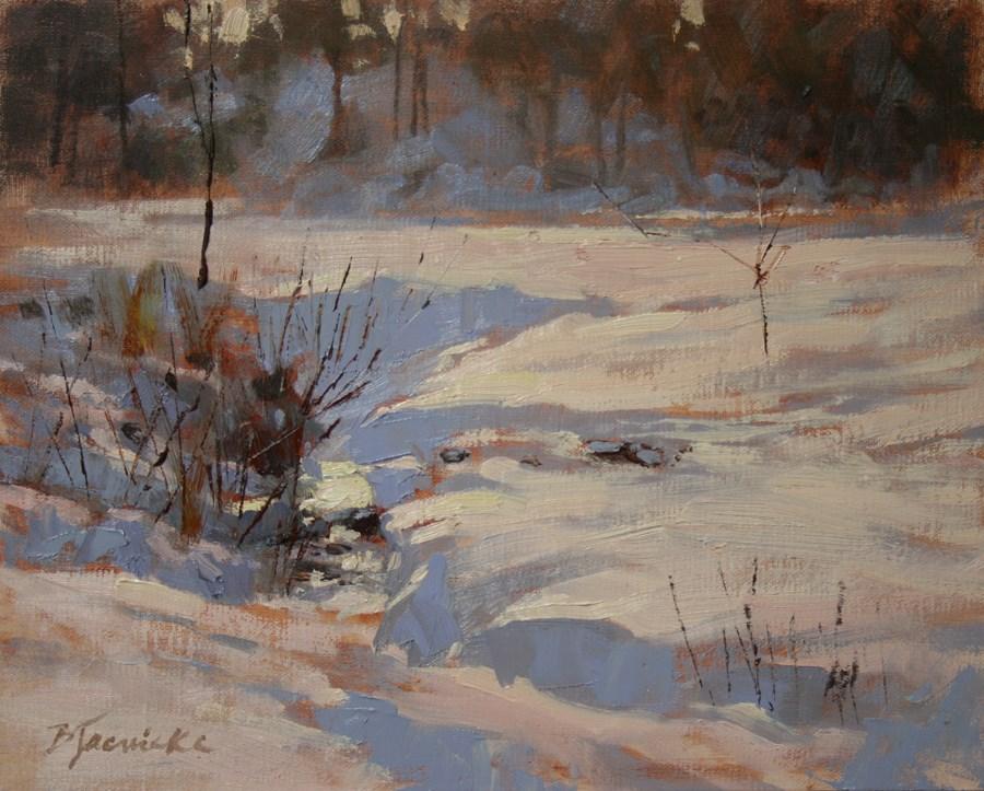 """Hidden Stream"" original fine art by Barbara Jaenicke"