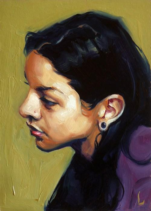 """Alluvial"" original fine art by John Larriva"
