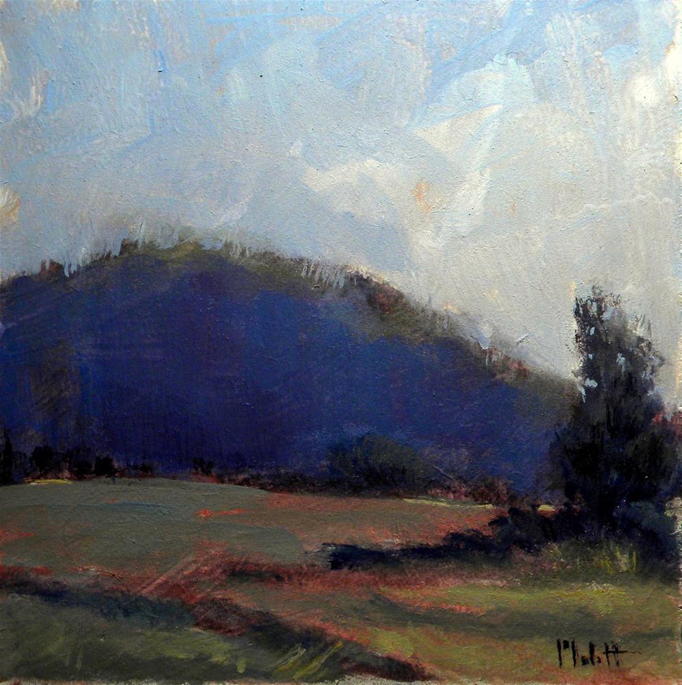 """Summer Hike Impressionism Contemporary Landscape Heidi Malott"" original fine art by Heidi Malott"