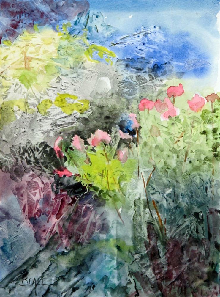 """""""Jo Pye Weed"""" original fine art by  David Beale"""