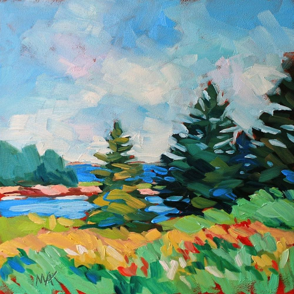 """A Day on Vinalhaven 2"" original fine art by Mary Anne Cary"