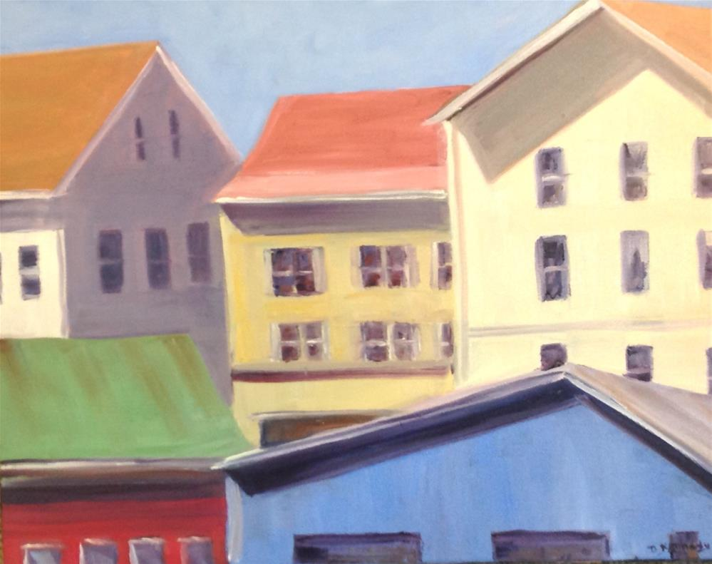 """Gloucester Morning"" original fine art by Debra Kennedy"