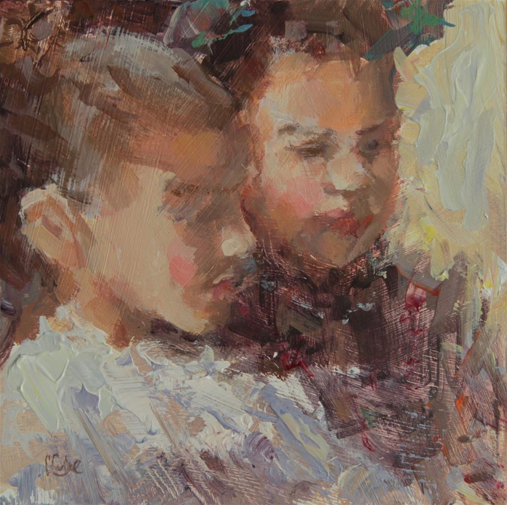 """Heart and Soul"" original fine art by Chantel Barber"