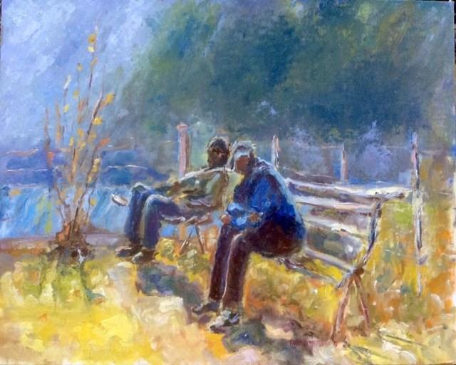 """Sunnyside Up"" original fine art by Thea Lombaard"