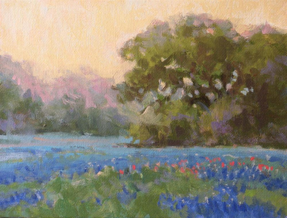 """""""Early Morning"""" original fine art by David Forks"""