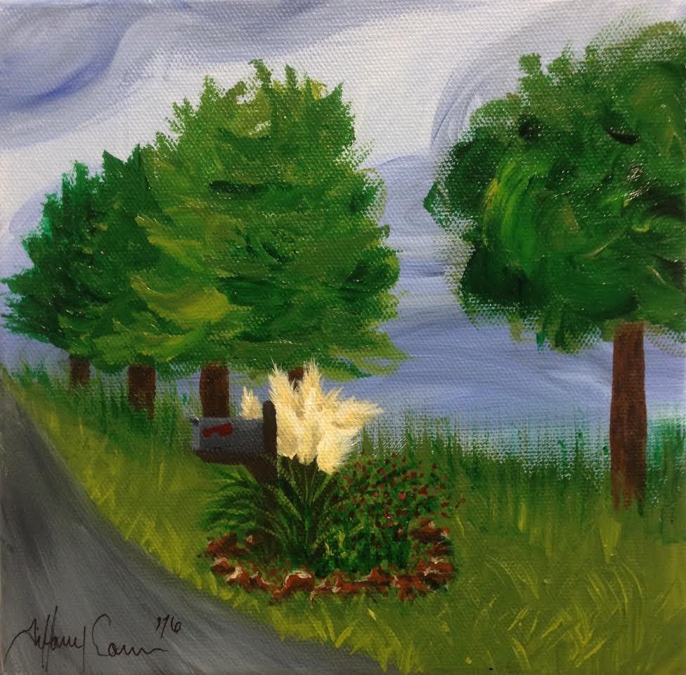 """Childhood Memory"" original fine art by Tiffany Conn"