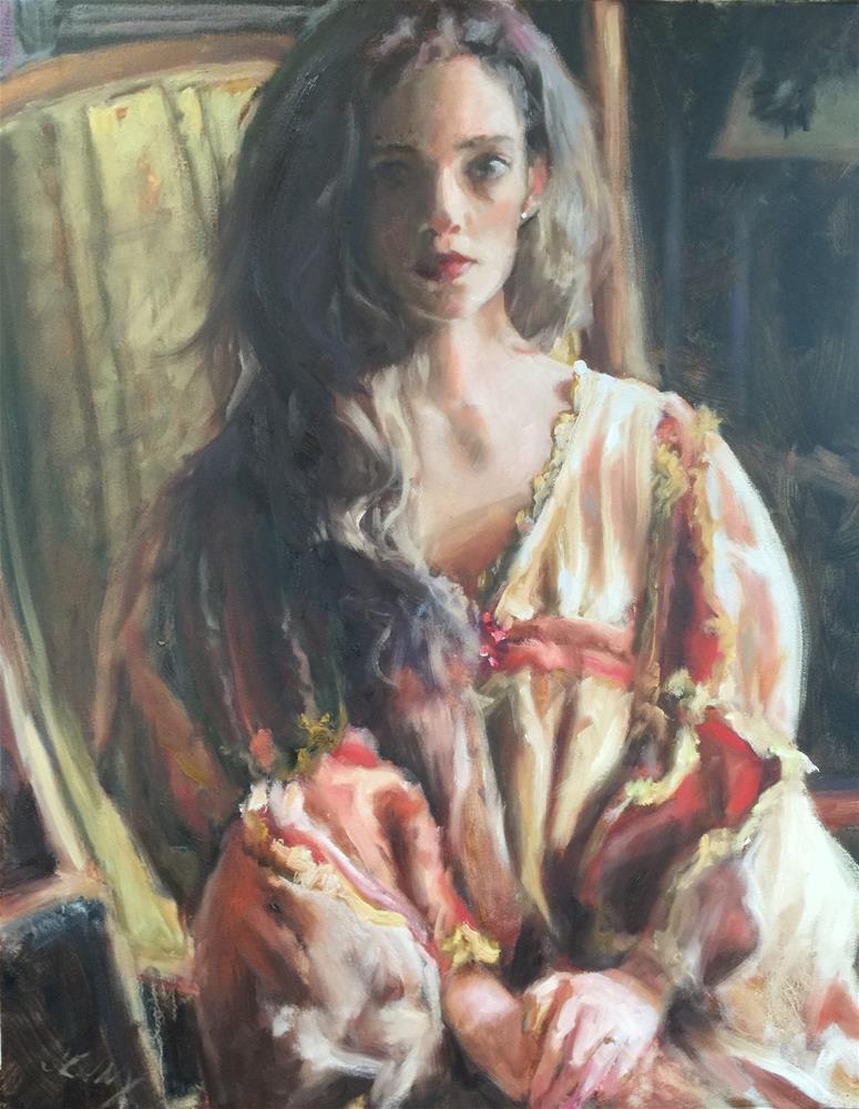 """""""Princess Jessica"""" original fine art by Jenny Buckner"""