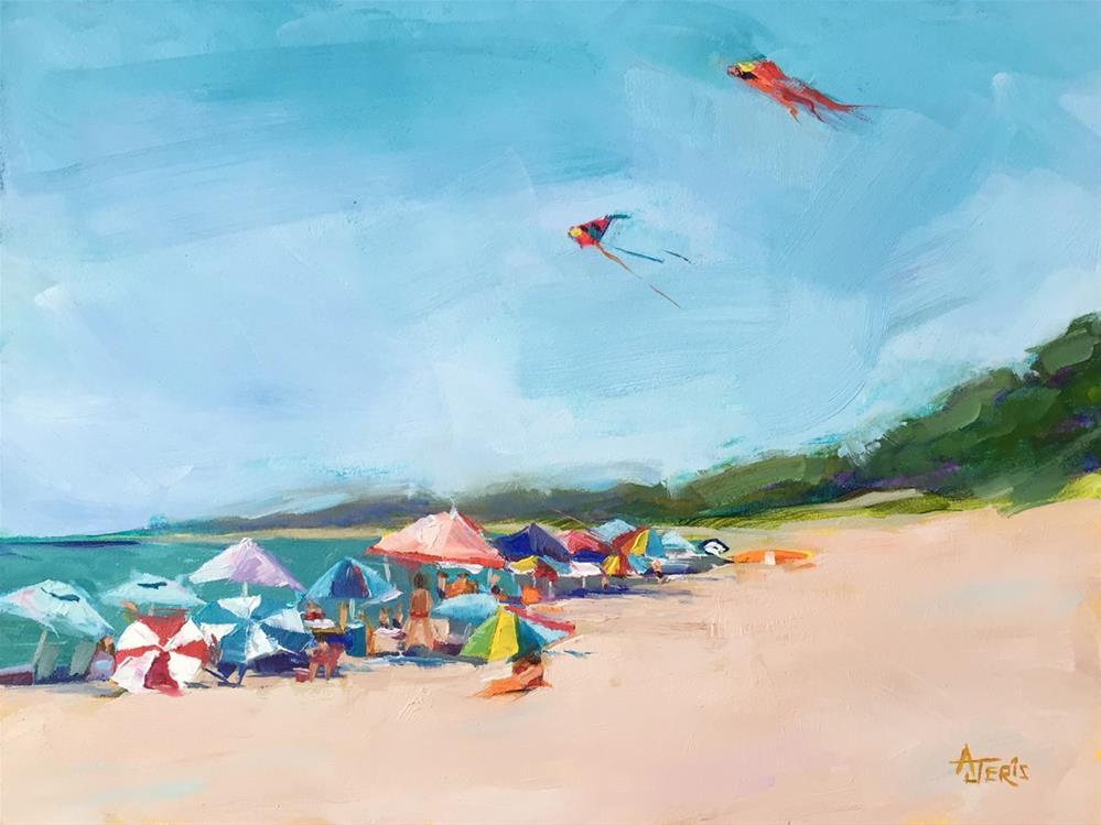 """Kites"" original fine art by Andrea Jeris"