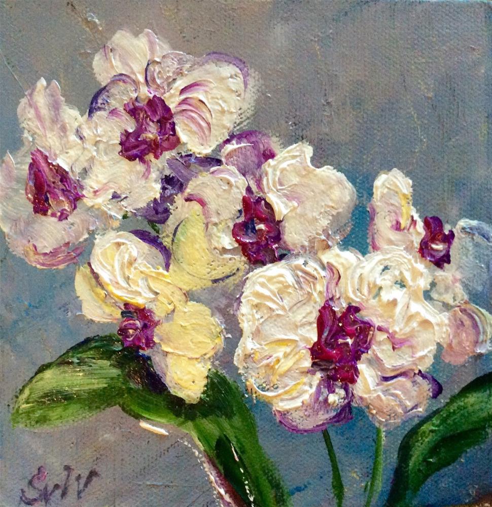 """""""Orchid Scent"""" original fine art by Sonia von Walter"""