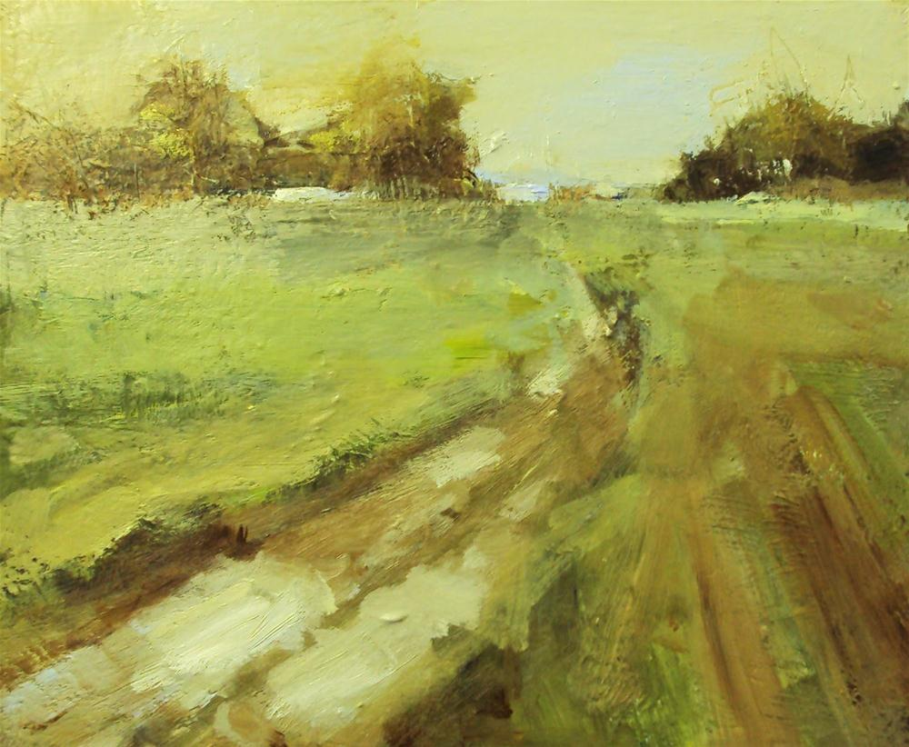 """""""Going home"""" original fine art by Parastoo Ganjei"""