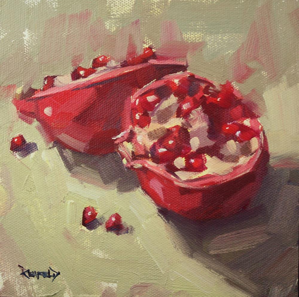 """What's Inside"" original fine art by Cathleen Rehfeld"