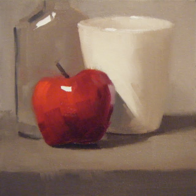 """APPLE CIDER"" original fine art by Helen Cooper"