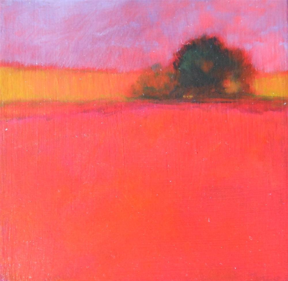 """""""Bittersweet"""" original fine art by Almira Hill Grammer"""