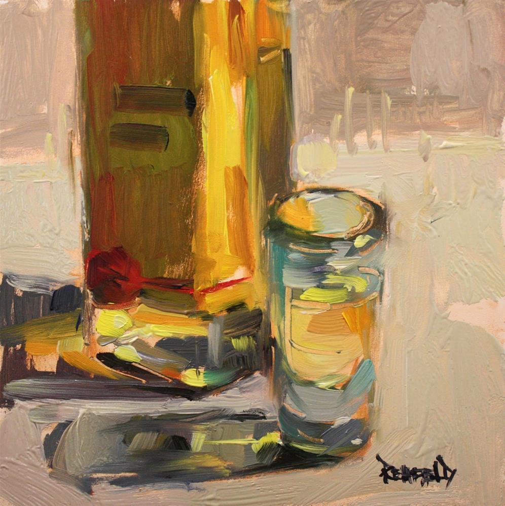 """""""Golden Light"""" original fine art by Cathleen Rehfeld"""