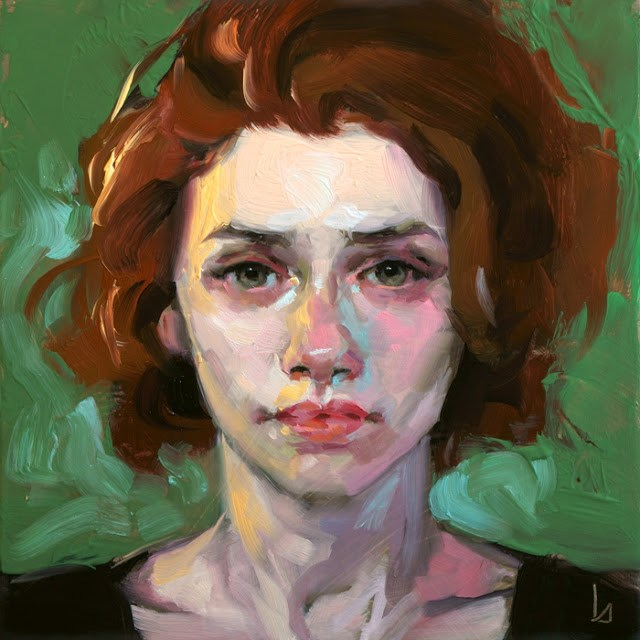 """Pearl"" original fine art by John Larriva"