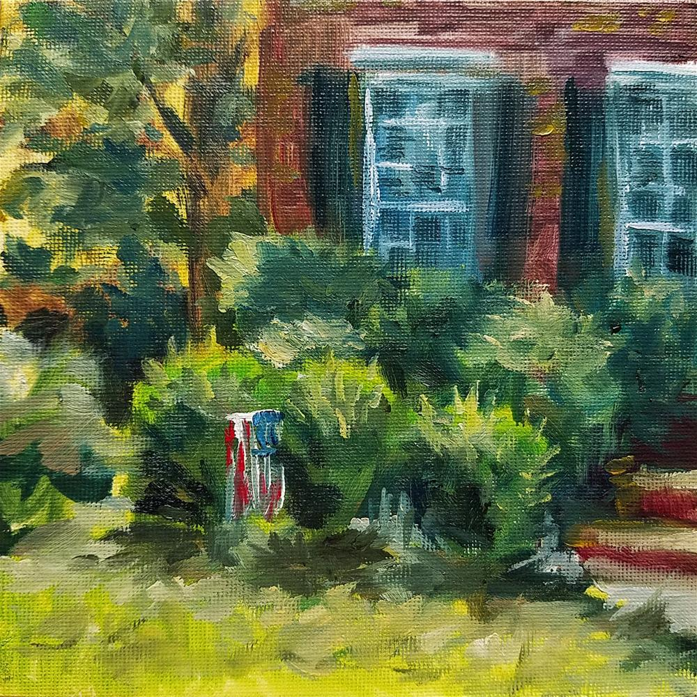 """Home PleinAir"" original fine art by Gabriella DeLamater"