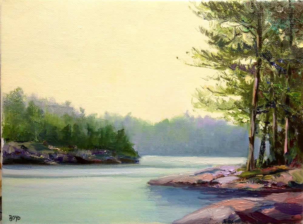 """The Point"" original fine art by Cathy Boyd"