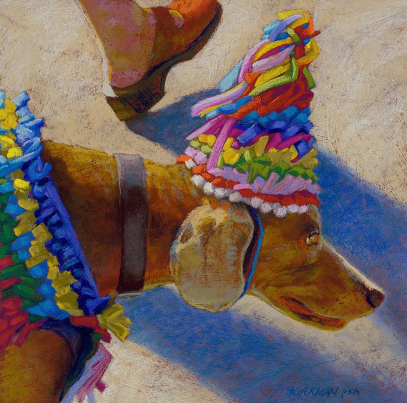 A'Partying We Go original fine art by Rita Kirkman