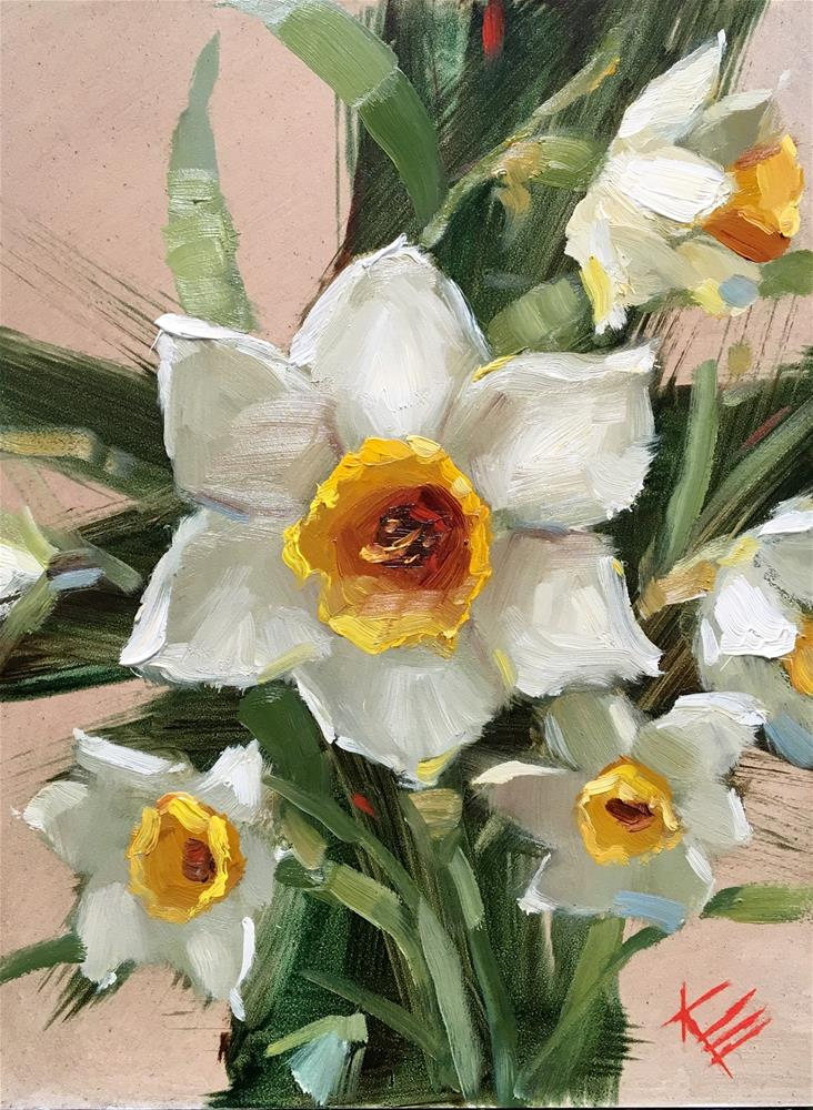"""""""Springtime"""" original fine art by Krista Eaton"""